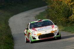 Gianandrea Pisani, David Castiglioni,Toyota GT 86-CSR3, Pistoia Corse
