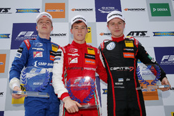 Rookie Podium: Winner Marcus Armstrong, PREMA Theodore Racing Dallara F317 - Mercedes-Benz, second place Robert Shwartzman, PREMA Theodore Racing Dallara F317 - Mercedes-Benz, third place Jüri Vips, Motopark Dallara F317 - Volkswagen