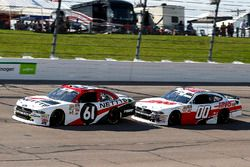 Kaz Grala, Fury Race Cars LLC, Ford Mustang NETTTS and Cole Custer, Stewart-Haas Racing, Ford Mustang Haas Automation