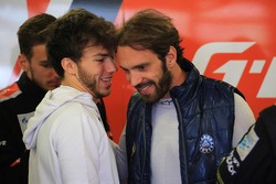 Pierre Gasly with Jean-Eric Vergne, G-Drive Racing