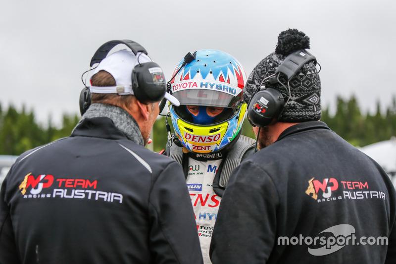 Alex Wurz, MJP Racing Team Austria Ford Fiesta