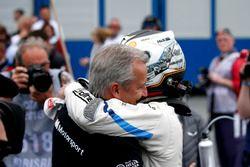 Jens Marquardt, Direttore BMW Motorsport, e il vincitore della gara Marco Wittmann, BMW Team RMG