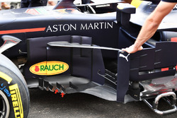 Red Bull Racing RB14 bargeboards detail