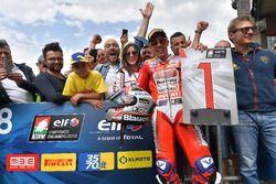 Il vincitore Michele Pirro, Barni Racing