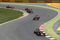 Daniel Ricciardo, Red Bull Racing RB12 TAG Heuer, Max Verstappen, Red Bull Racing RB12 TAG Heuer, Ca