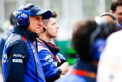 Franz Tost, Team Principal, Toro Rosso, on the grid