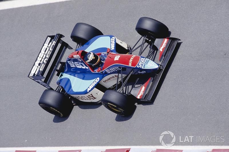 Thierry Boutsen, Jordan 193 Hart