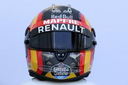 Le casque de Carlos Sainz Jr., Renault Sport F1 Team