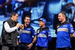 WorldSSP300: Galang Hendra, Team MotoX Racing dan Alberto Barozzi, Yamaha Motor Europe bLU cRU Racin