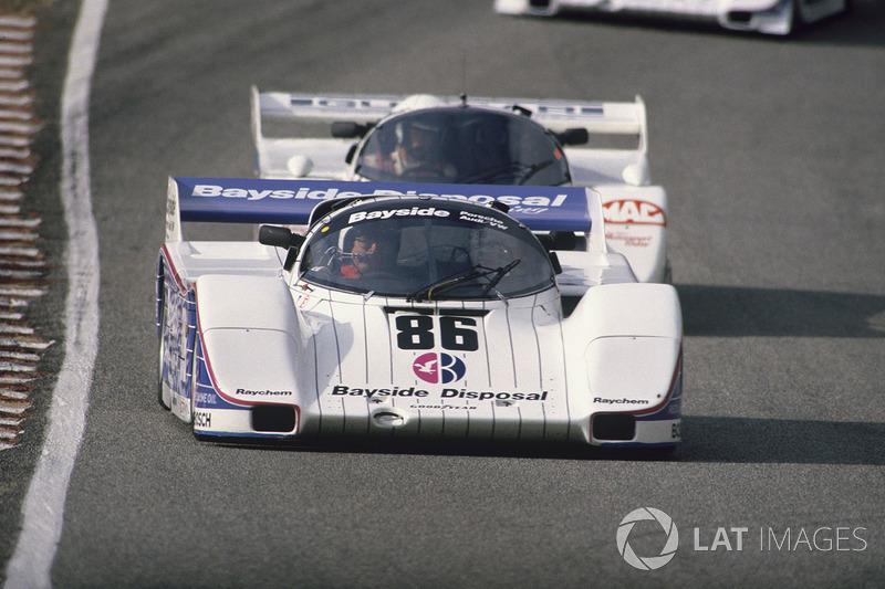 Jochen Mass, Bobby Rahal, Porsche 962