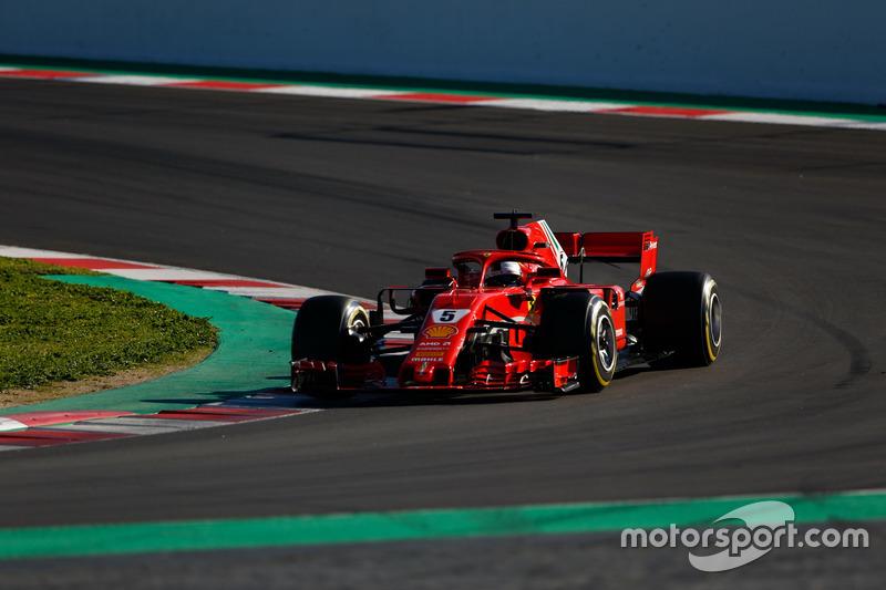 Sebastian Vettel, Ferrari SF71H: 1:17.182