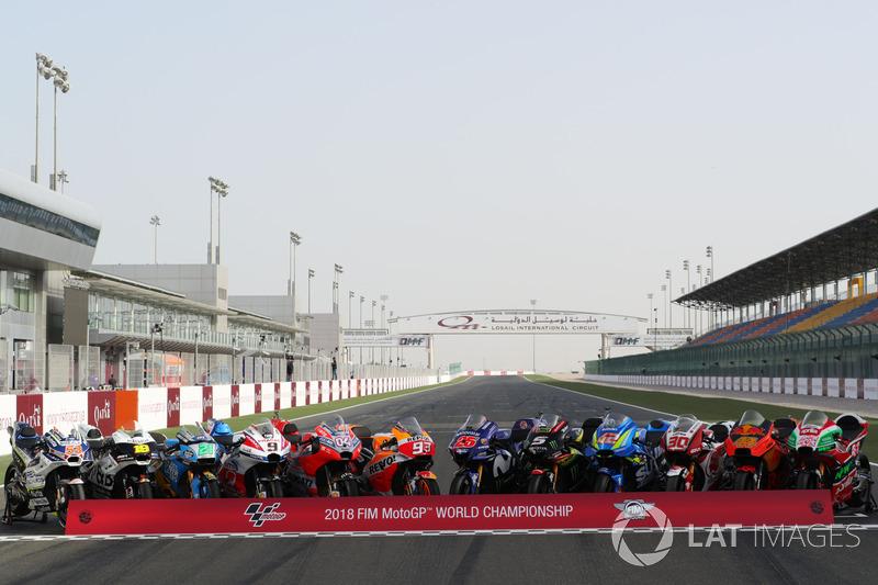 Las motos que participan este año en el Mundial de MotoGP