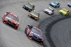 Kyle Busch, Joe Gibbs Racing, Toyota Camry Skittles, Denny Hamlin, Joe Gibbs Racing, Toyota Camry FedEx Freight