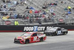 Kyle Busch, Joe Gibbs Racing, Toyota Camry Skittles, Reed Sorenson, Premium Motorsports, Chevrolet Camaro