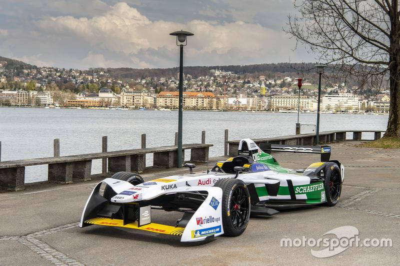 Car of Audi Sport ABT Schaeffler