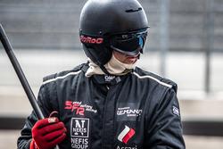 Mechanic of #5 Nefis By Speed Factory Ligier JS P3 - Nissan: Timur Boguslavskiy, Alexey Chuklin, Daniil Pronenko