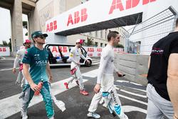 Sébastien Buemi, Renault e.Dams, Tom Blomqvist, Andretti Formula E Team, Daniel Abt, Audi Sport ABT