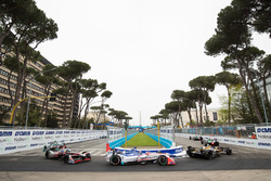 Jean-Eric Vergne, Techeetah, Nick Heidfeld, Mahindra Racing, Maro Engel, Venturi Formula E Team