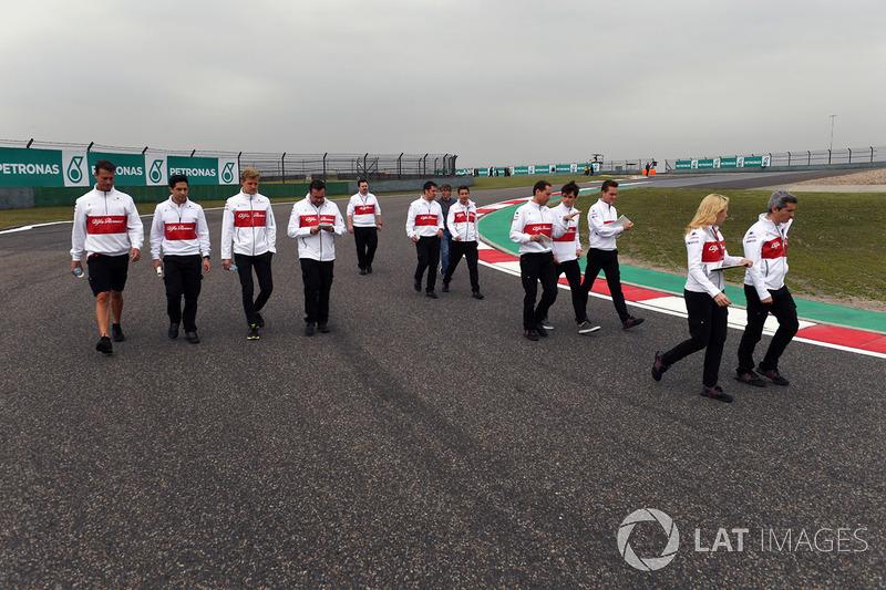 Marcus Ericsson, Sauber et Charles Leclerc, Sauber