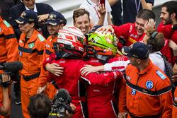 Antonio Fuoco, Charouz Racing System,Louis Deletraz, Charouz Racing System