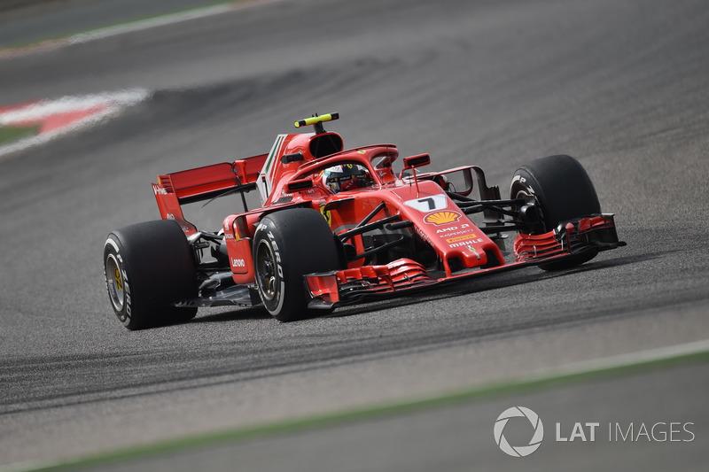 2. Kimi Raikkonen, Ferrari SF-71H