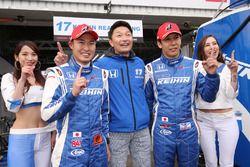 Polesitters #17 Keihin Real Racing Honda NSX Concept-GT: Koudai Tsukakoshi, Takashi Kogure