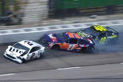 Brad Keselowski, Team Penske, Denny Hamlin, Joe Gibbs Racing, Jimmie Johnson, Hendrick Motorsports c