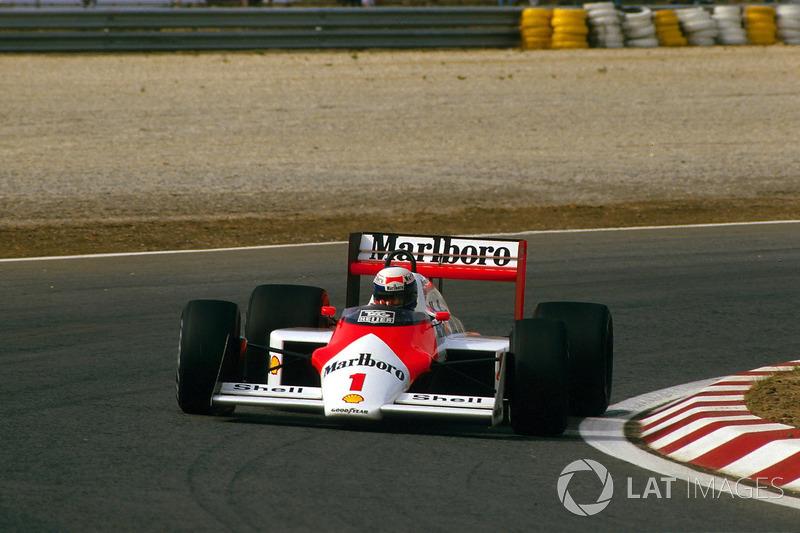 Um novo rei chegava ao trono em 1987: Alain Prost