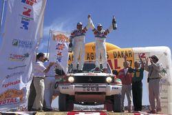 Kenjiro Shinozuka, Henri Magne, Mitsubishi Pajero