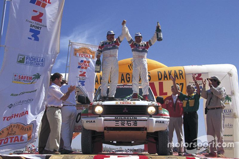 1997: Kenjiro Shinozuka, Henri Magne, Mitsubishi Pajero