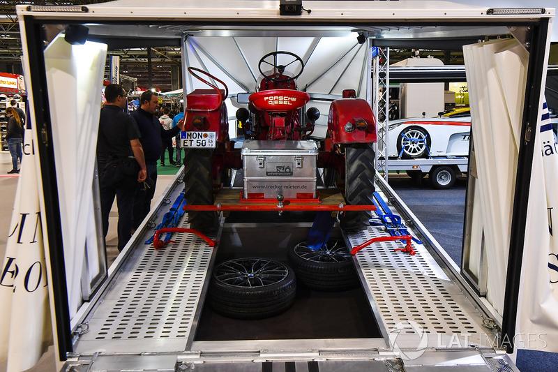 A Porsche tractor