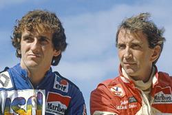 Ален Прост, Renault и Джон Уотсон, McLaren