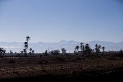 Les montagnes de l'Atlas