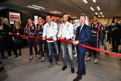 WRC-rijders en Malcolm Wilson openen de show
