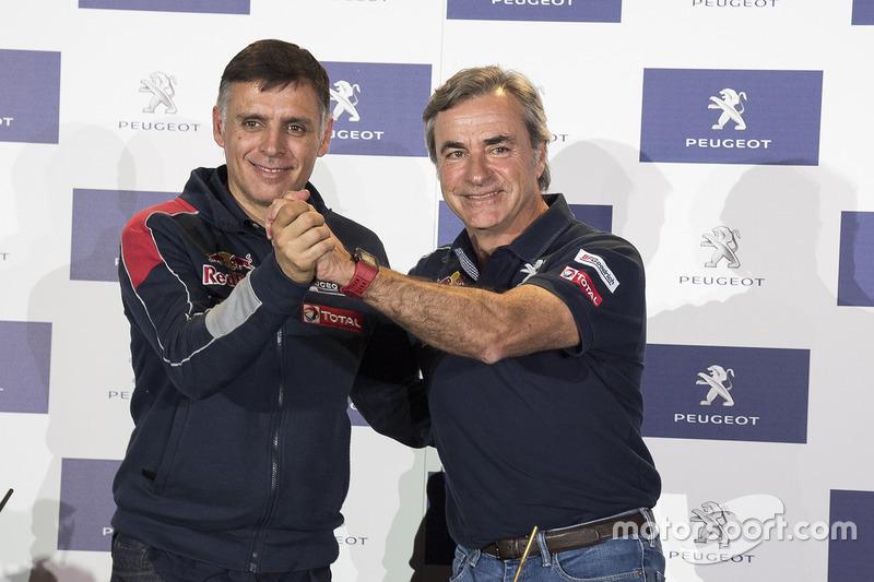 #303 Carlos Sainz y Lucas Cruz, Peugeot Sport