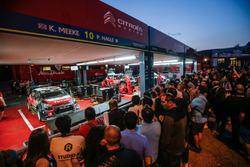 Расположение команды Citroën World Rally Team