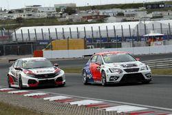 Jens Reno Møller, Reno Racing, Honda Civic Type R TCR, Mikel Azcona, PCR Sport Cupra TCR