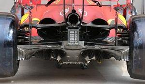 Детали задней части Ferrari SF21