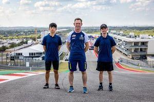 Ayumu Sasaki, Peter Oetll and John McPhee, Max Racing Team