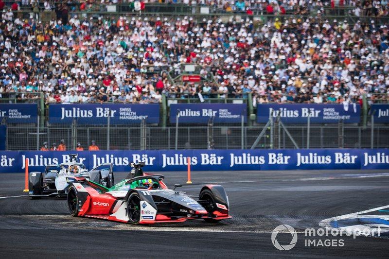 Lucas Di Grassi, Audi Sport ABT Schaeffler, Audi e-tron FE06 Stoffel Vandoorne, Mercedes Benz EQ, EQ Silver Arrow 01