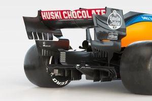 McLaren MCL35 rear detail