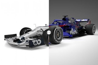 Toro Rosso STR14 vs. AlphaTauri AT01