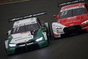 マルコ・ヴィットマン Marco Wittmann #11 BMW M4 DTM, レネ・ラスト Rene Rast #33 Audi Sport RS 5 DTM