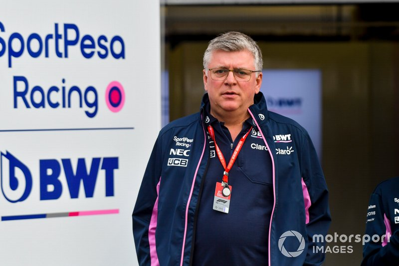 Otmar Szafnauer, Team Principal e CEO, Racing Point