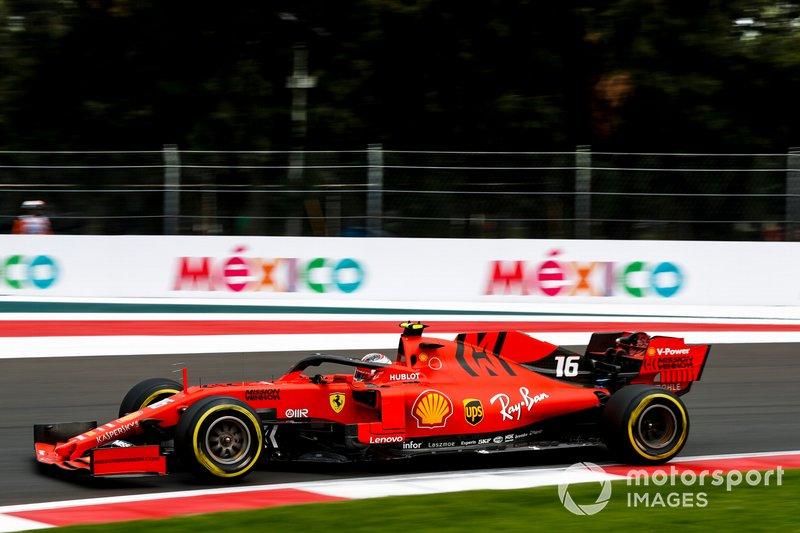 1: Charles Leclerc, Ferrari SF90, 1'15.024