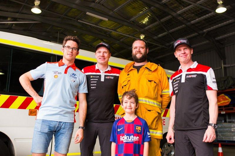 Thierry Neuville, Hyundai Motorsport, Jari-Matti Latvala, Miikka Anttila, Toyota Gazoo Racing WRT