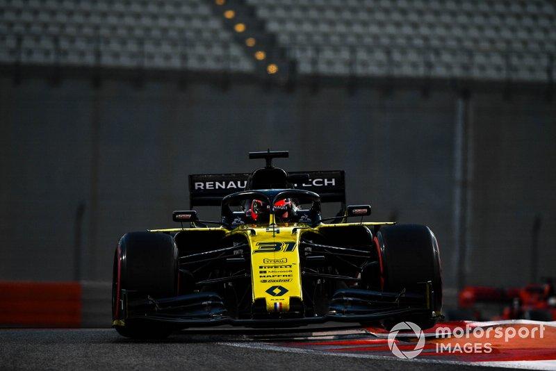Эстебан Окон, Renault Sport F1 Team R.S.19