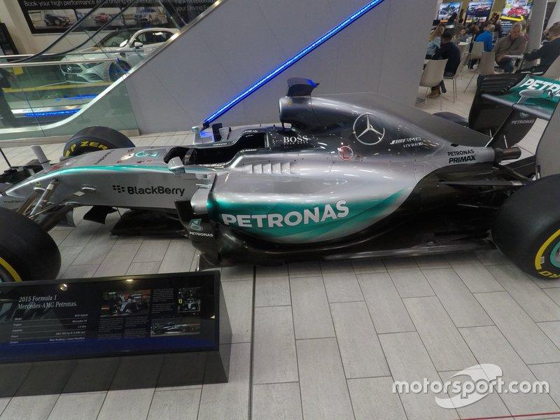 Mercedes-AMG Petronas W06, 2015
