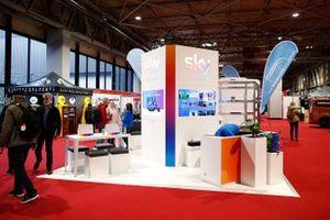 The Sky stand at Autosport International 2020
