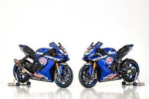 Motoren van Federico Caricasulo, GRT Yamaha en Garrett Gerloff, GRT Yamaha